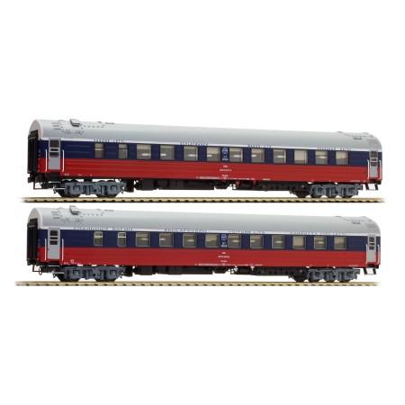 Набор пассажирских вагонов РЖД A.C.M.E 55139 2 шт.