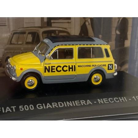 Автомодель Altaya Fiat 500 Giardiniera Necchi 1960