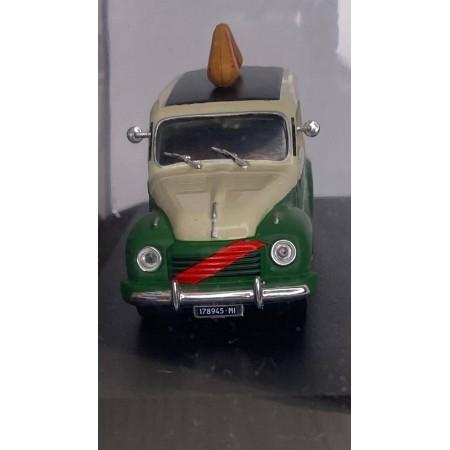 Автомодель Altaya Fiat 500 C Auricchio 1951