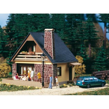 Дом с камином Auhagen 11377