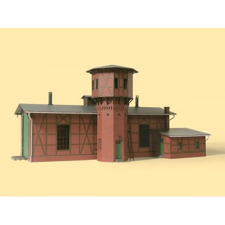 Депо с водонапорной башней Auhagen 11400