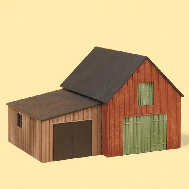 Склад с гаражом Auhagen 11408