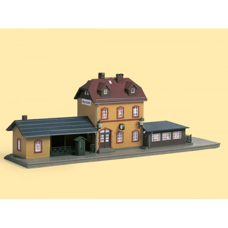 Набор строений Железнодорожная станция Auhagen 15102