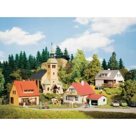 Стартовый набор деревня Вальдкирхен Auhagen 15201