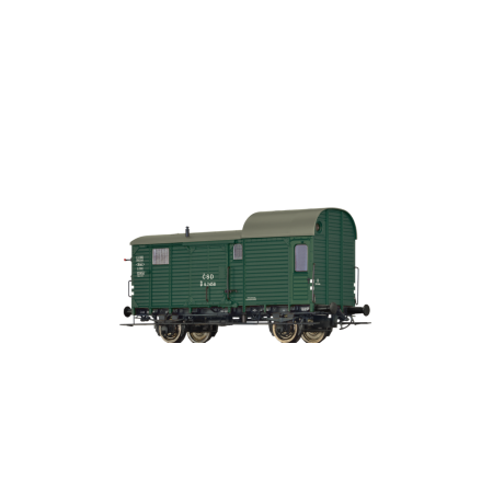 Грузовой вагон D ČSD Brawa 49406