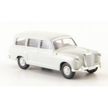 Автомодель Mercedes 180 Kombi (W120) светло-серый 1955 BREKINA 13450