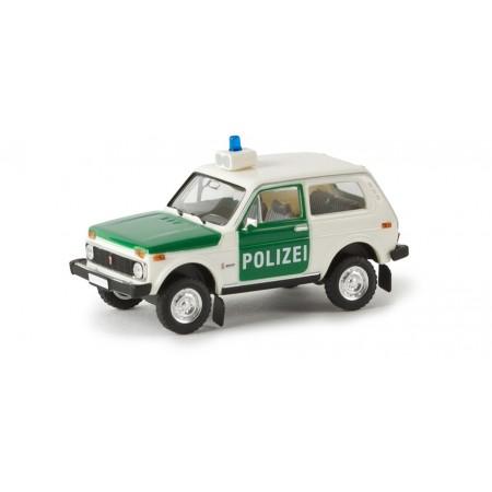 Модель Нива Полиция Brekina 27214