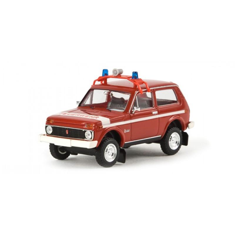 Модель Нива Пожарная бригада Brekina 27217