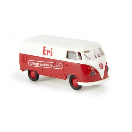 "Автомодель крытый автофургон T1b ""Eri Schuhpflege"" Brekina 32645"