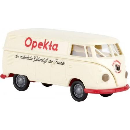 Автомодель Volkswagen Bus T1b box wagon opekta Brekina 32698