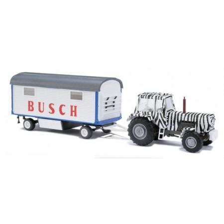 Трактор ZT 303 с прицепом Busch 42814