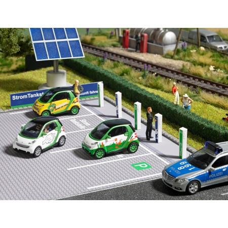 Электрическая автомобильная зарядная станция Busch 1160