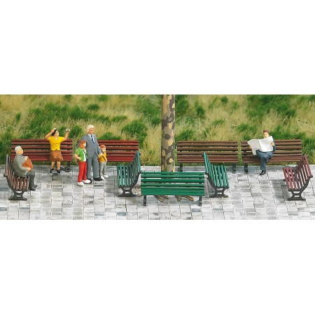 Парковая скамейка Busch 1149