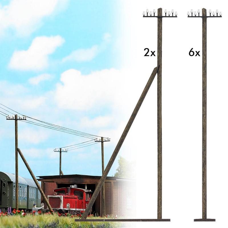 Телеграфные столбы Busch 1499