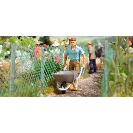 Забор сетка рабица Busch 1020