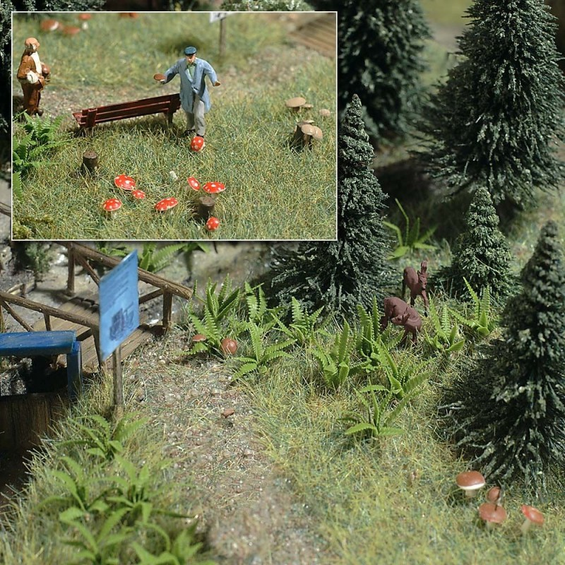 Папоротники и грибы Busch 1203