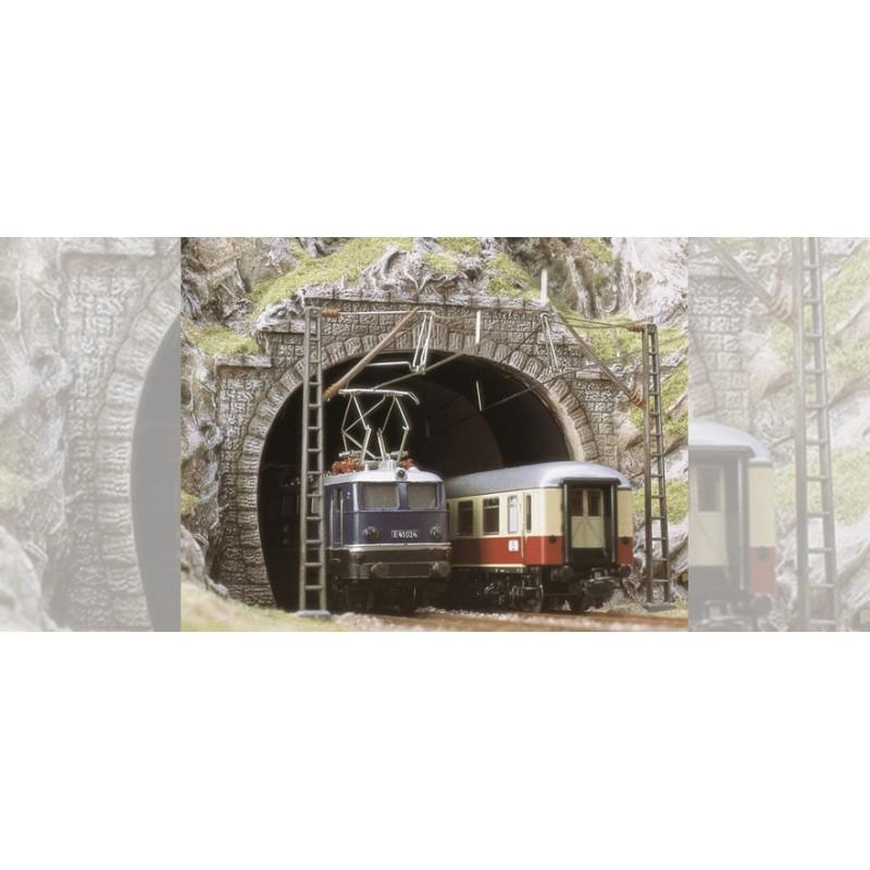 Туннельный портал на 2 пути Busch 7027