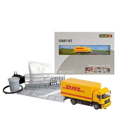 Стартовый набор с грузовиком LKW DHL Faller 161607