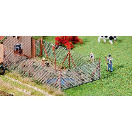 Забор сетка рабица Faller 180414