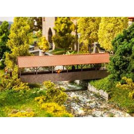 Крытый пешеходный мостик Faller 120209