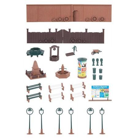 Набор Деревенская площадь Faller 131373