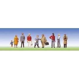 Набор фигурок пассажиров Faller 150901
