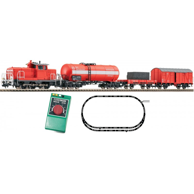 Стартовый аналоговый набор Пожарный поезд Fleischmann 631202