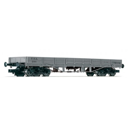 Низкий полувагон-платформа Fleischmann 526205