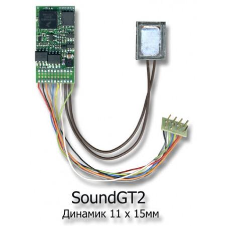 Декодер локомотивный звуковой SoundGT2 Modelldepo 343008