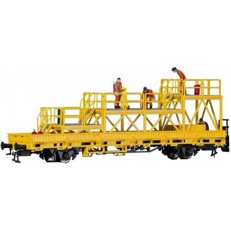 Низкобортовой вагон с платформой Kibri 26262