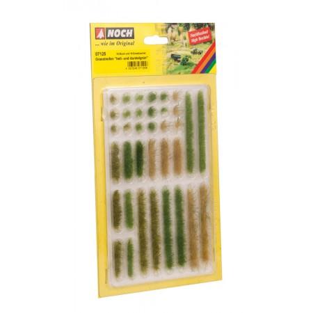 Травяные кусты полосками Noch 07125