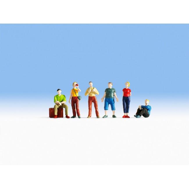 Набор фигурок Молодые путешественники Noch 15233