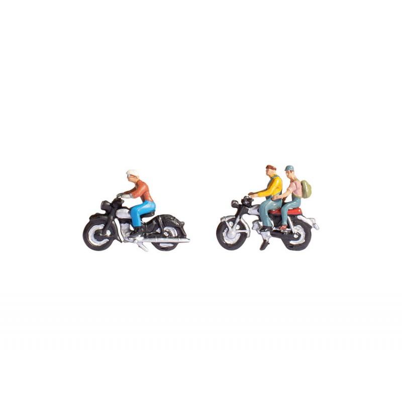 Набор фигурок Мотоциклисты Noch 15904
