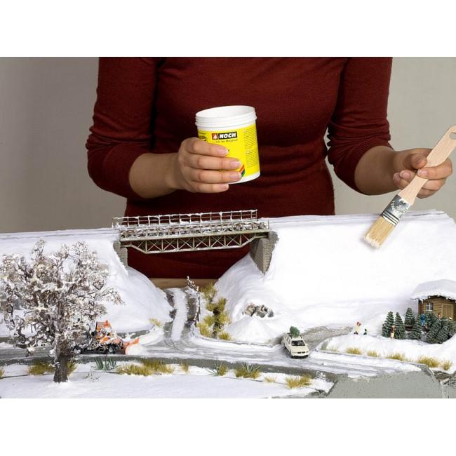 Стартовый набор для создания зимнего пейзажа Noch Snowflake Noch 07065