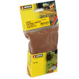 Тонирующая светло-коричневая посыпка (мелкий флок) для ландшафта Noch 07223