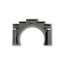 Туннельный портал на 2 пути Noch 58052