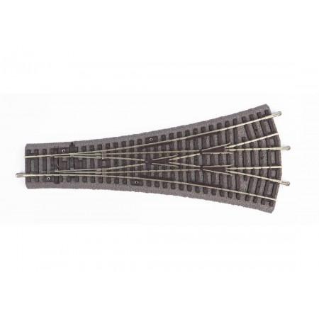 Тройная стрелка на балласте W3 PIKO 55425