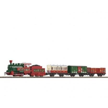 Стартовый аналоговый набор Рождественский поезд PIKO 57080