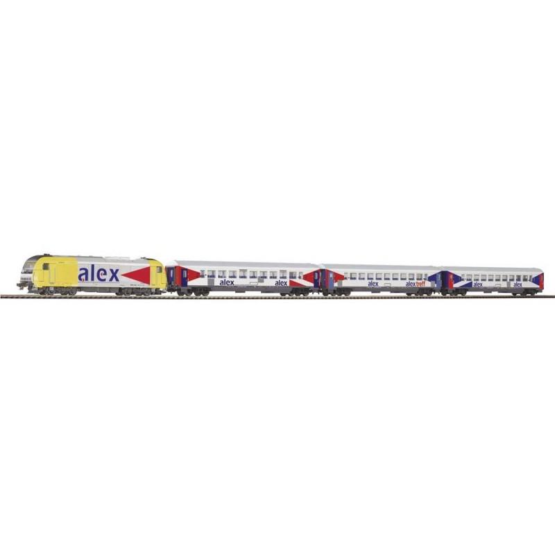 Стартовый аналоговый набор Пассажирский поезд PIKO 57130