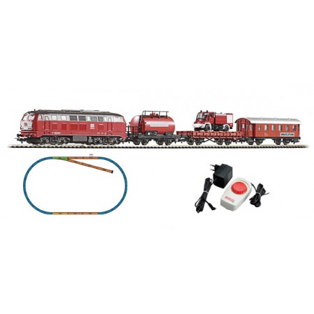 Стартовый аналоговый набор Пожарный поезд PIKO 57153