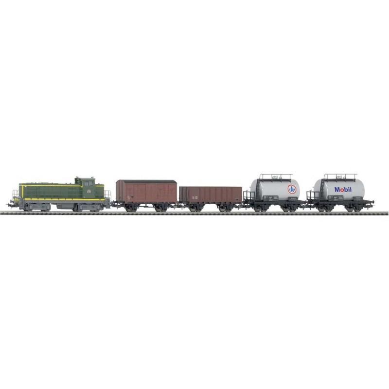 Стартовый аналоговый набор Товарный поезд PIKO 57162
