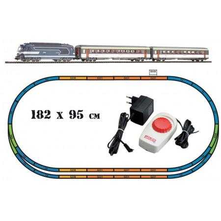 Аналоговый стартовый набор Пассажирский поезд PIKO 59010