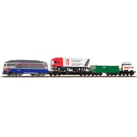 Стартовый аналоговый набор Товарный поезд PIKO 96995