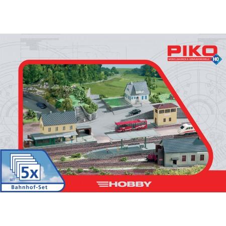 Набор строений Железнодорожная станция Piko 61923