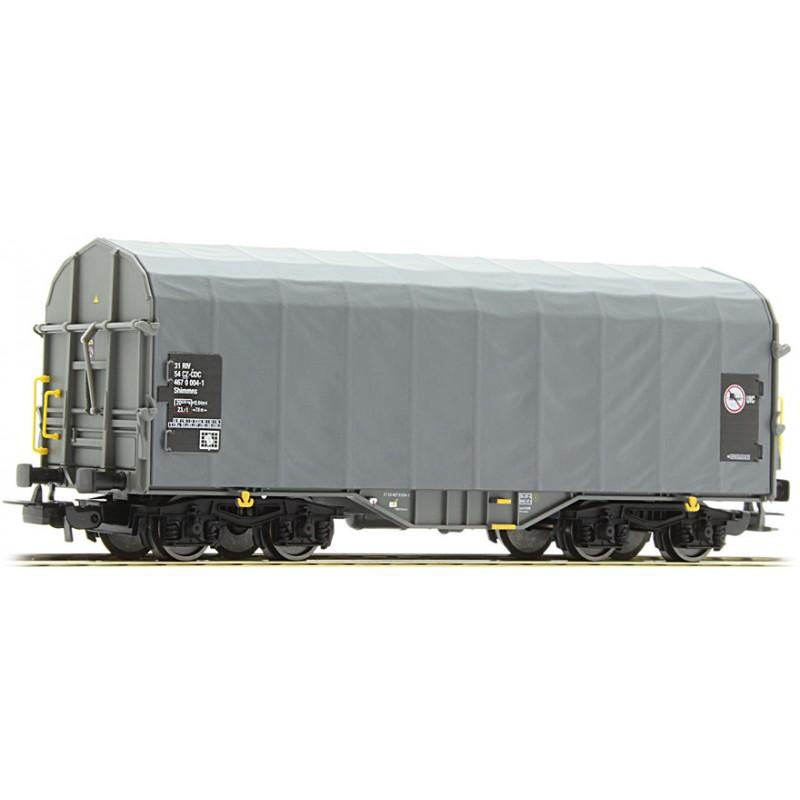 Брезентовый товарный вагон PIKO 54586