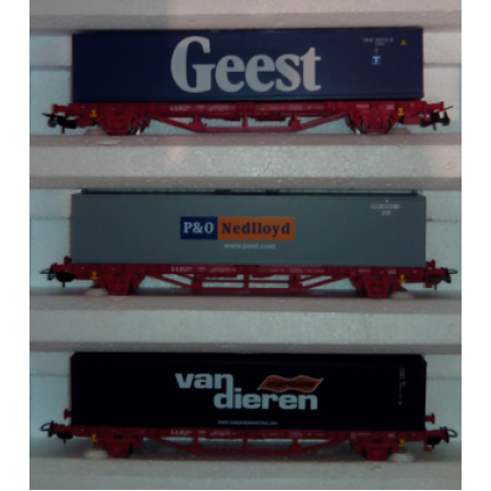 Платформа с контейнером GEEST PIKO 97908-3.1