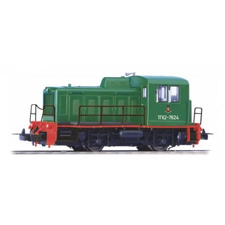 Дизельный локомотив ТГК2-М РЖД PIKO 52744