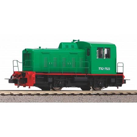 Дизельный локомотив ТГК2-М Калуга PIKO 52747