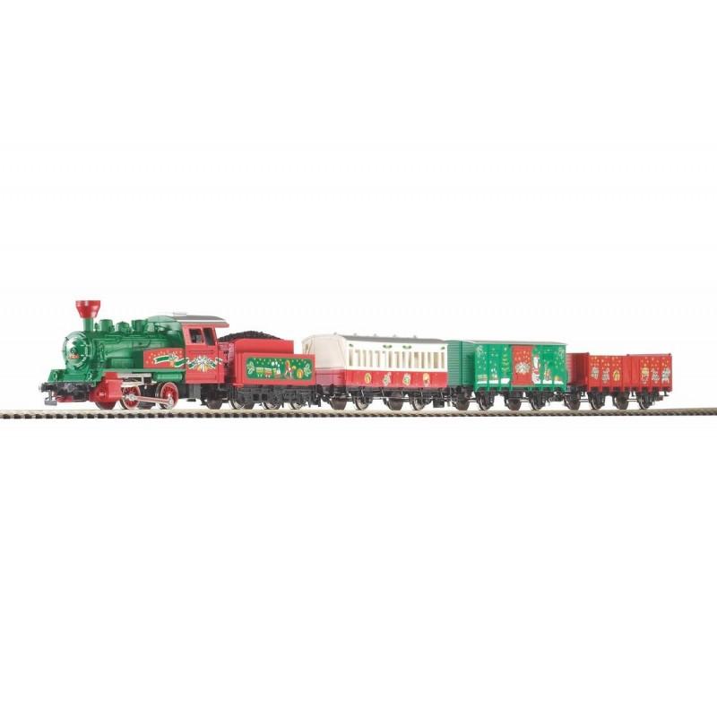 Стартовый аналоговый набор Рождественский поезд PIKO 57081