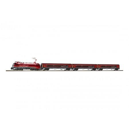Стартовый аналоговый набор Пассажирский поезд Rail Jet ÖBB PIKO 57178
